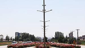 Karaman'da yeşil alan çalışmaları devam ediyor