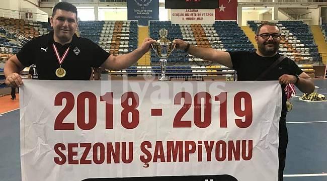 Karaman Paravoley Türkiye Şampiyonu