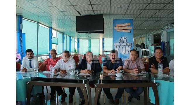 KESOB Sekreterler Toplantısı Ermenek'te Yapıldı
