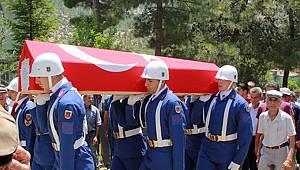 Kıbrıs Gazisi, askeri törenle toprağa verildi