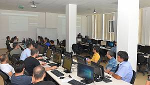 KMÜ'de hizmet içi eğitim