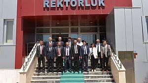 KMÜ'de Rektörler Toplantısı