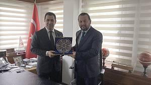 KMÜ Rektörü Akgül, Spor Toto Başkanı Bozgeyik İle Görüştü