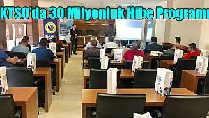 KTSO'da 30 Milyonluk Hibe Programı