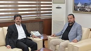 Osman Sağlam'dan Rektör Akgül'e ziyaret