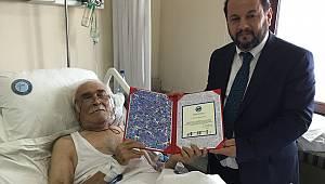 Rektör Akgül'den Prof. Dr. Kafalı'ya ziyaret