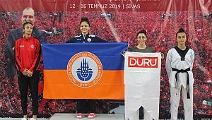 Taekwondo da hedef Avrupa şampiyonası