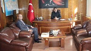 Ziraat Bankası Müdürü Şener'den Kaymakam Atak'a Ziyaret