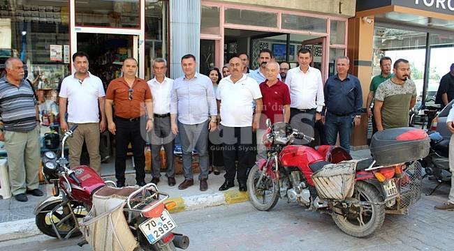 Alanya Belediye Başkanından Taşeli bölgesine ziyaret