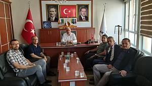 Ali Güler'den Ak Parti İl Başkanı Çağlayan'a Hayırlı Olsun Ziyareti