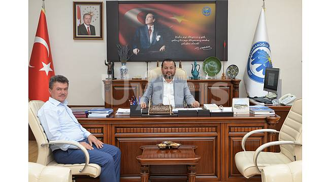 Başkan İpek'ten Rektör Akgül'e ziyaret
