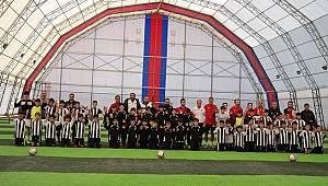 Beşiktaş Futbol Okulunu ziyaret edecekler