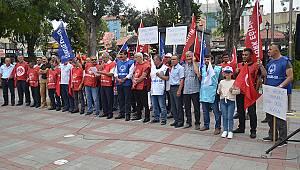 Hükümetin zam teklifini protesto ediyoruz
