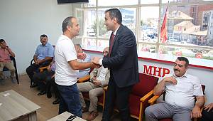 Kalaycı MHP Teşkilatıyla Bayramlaştı