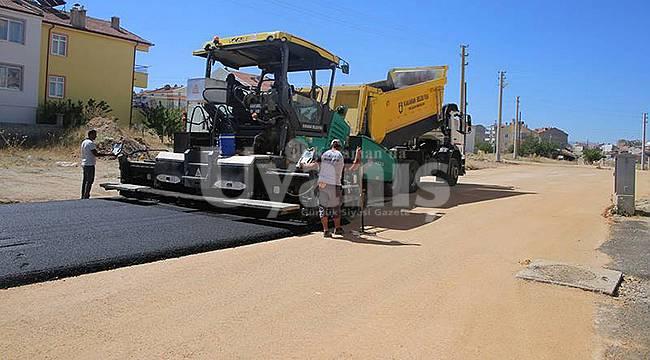 Karaman'da asfalt ve yol bakım çalışmaları