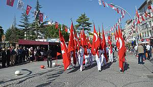 Karaman'da Zafer Bayramı Coşkuyla Kutlandı