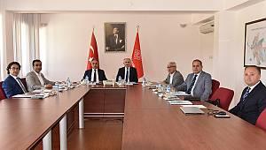 MEVKA Yönetim Kurulu Toplantısı Gerçekleştirildi