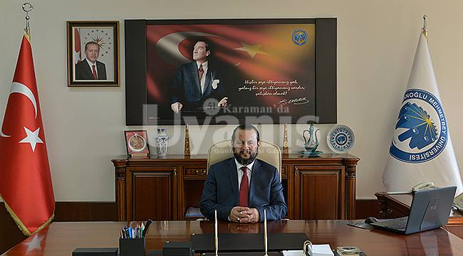 Rektör Akgül'den Malazgirt Zaferi Mesajı