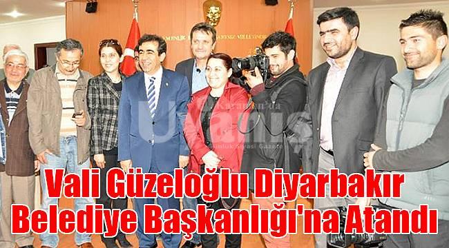Vali Güzeloğlu Diyarbakır Belediye Başkanlığı'na Atandı