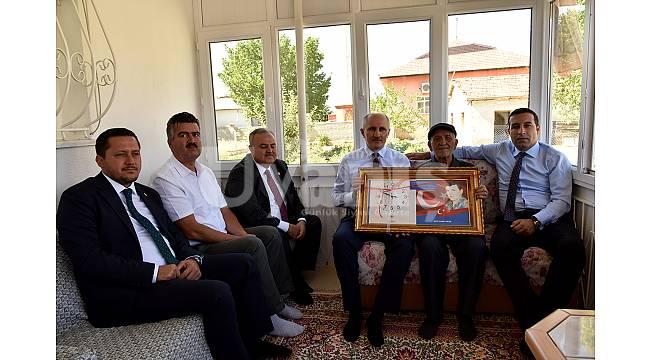 Vali Meral'den Şehit Ailelerimize Bayram Ziyareti