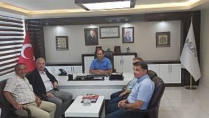 AK Parti İl Başkanlığından MÜSİAD Karaman'a Ziyaret