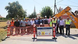 Atatürk Mahallesi'ne Doğalgaz Hayırlı Olsun