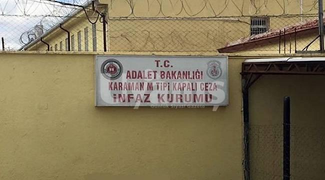 Karaman cezaevindeki mahkum intihar etti