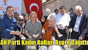 Karaman'da AK Parti Kadın Kolları Aşure Dağıttı