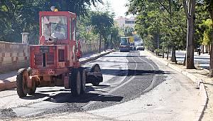 Karaman'da asfalt çalışmaları devam ediyor