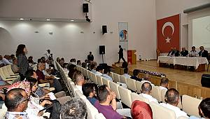 Karaman'da Güvenlik Toplantısı Yapıldı