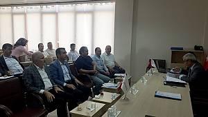 Karaman Teknopark'ın Genel Kurul Toplantısı Yapıldı