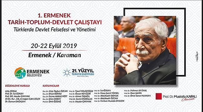 Prof. Dr. Mustafa Kafalı anısına çalıştay düzenlenecek