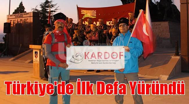 Türkiye'de İlk Defa Yürünen Sakarya Diriliş Zafer Yürüyüşü Tamamlandı