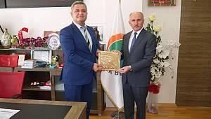 Vali Meral'den Ermenek'e Belediyesine ziyaret