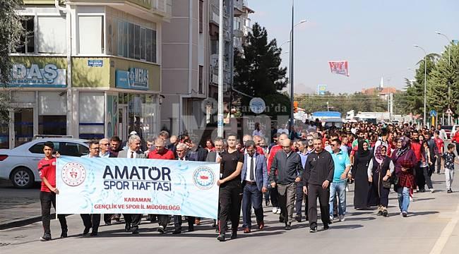 Amatör Spor Haftası Kutlamaları Başladı
