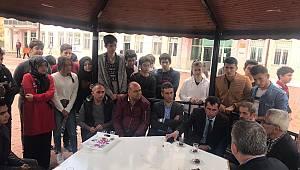 Başkan Zorlu, öğrencilerle buluştu