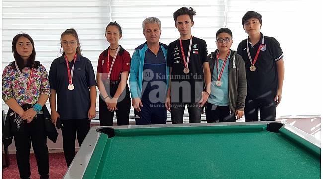 Bilardo'da amatör spor haftası heyecanı