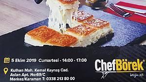 Chef Börek açılıyor