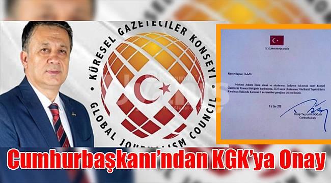 Cumhurbaşkanı'ndan KGK'ya onay