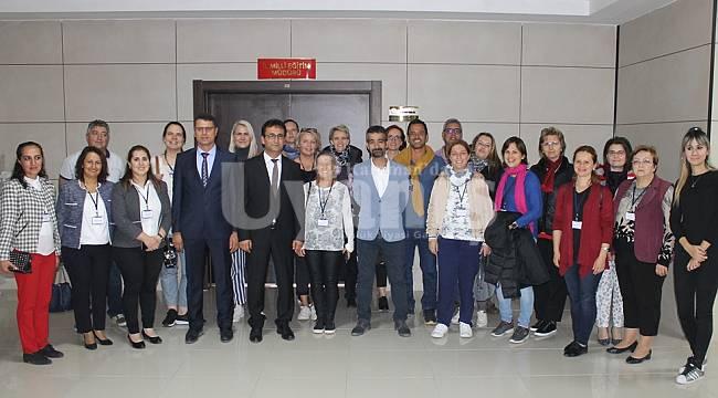 Erasmus+ Proje Ortakları Çalışkan'ı Ziyaret Etti