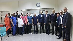 ERCP uygulaması Karaman Devlet Hastanesinde