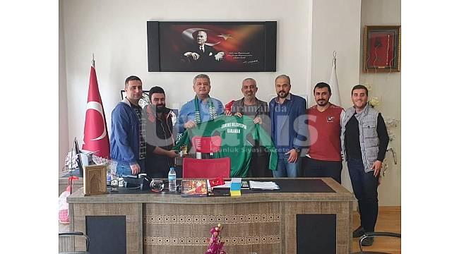 Ermenek Belediye Spor'dan Başkan Zorlu'ya ziyaret