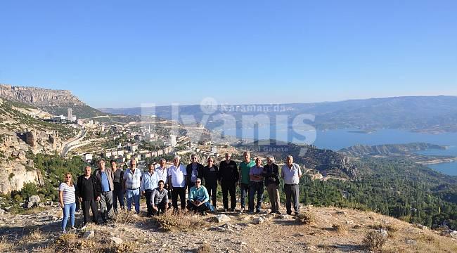 Ermenek'in Tarihi Yerleri Gezildi