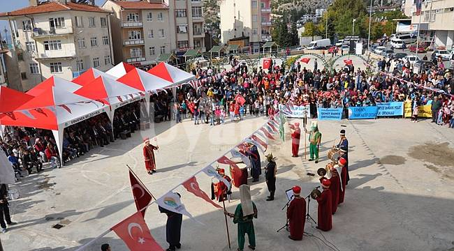 Ermenek'te cumhuriyetin 96. Yılı coşkuyla kutlandı