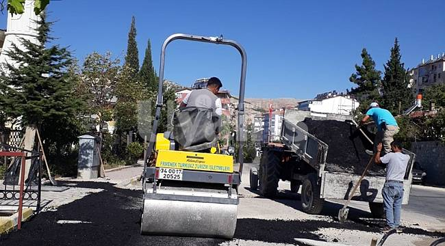 Ermenek'te doğalgaz çalışmaları