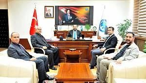 Karaman ASKF Yönetim Kurulundan Rektör Akgül'e Ziyaret
