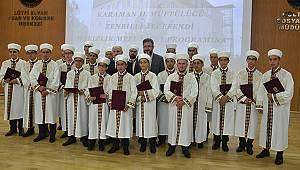 Karaman'da 22 Hafız için İcazet Merasimi düzenlendi