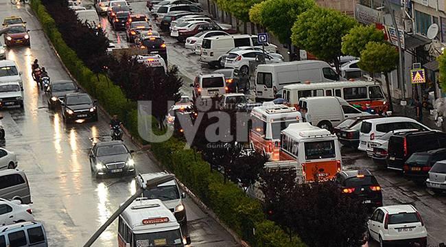 Karaman'da Araç Sayısı 90 Bini Geçti