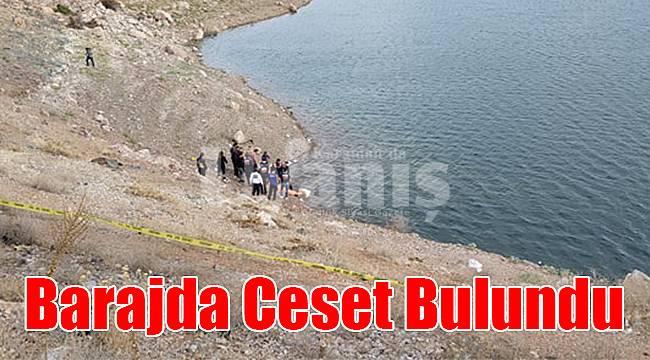 Karaman'da barajda ceset bulundu
