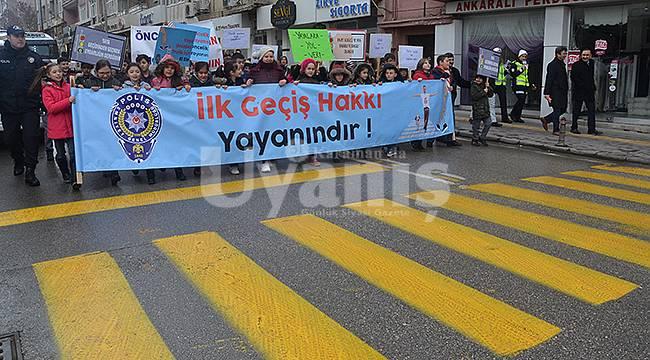Karaman'da Yaya Geçidi Nöbeti Etkinliği Düzenlenecek